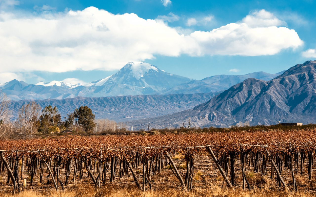mendoza volcano aconcagua - terra argentina