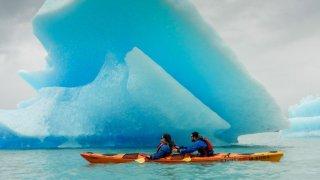kayak glaciers patagonia