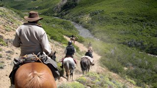 horse-riding journey across the Andes
