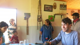 visit mapuche community in Patagonia