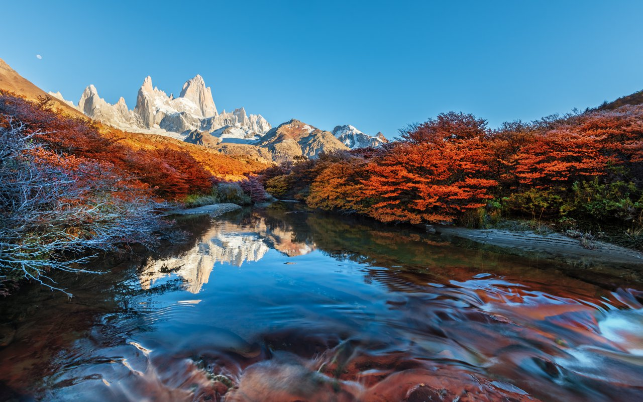Mount Fitz Roy, at the heart of Los Glaciares National Park