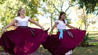 estancia ombu de areco baile folklorico
