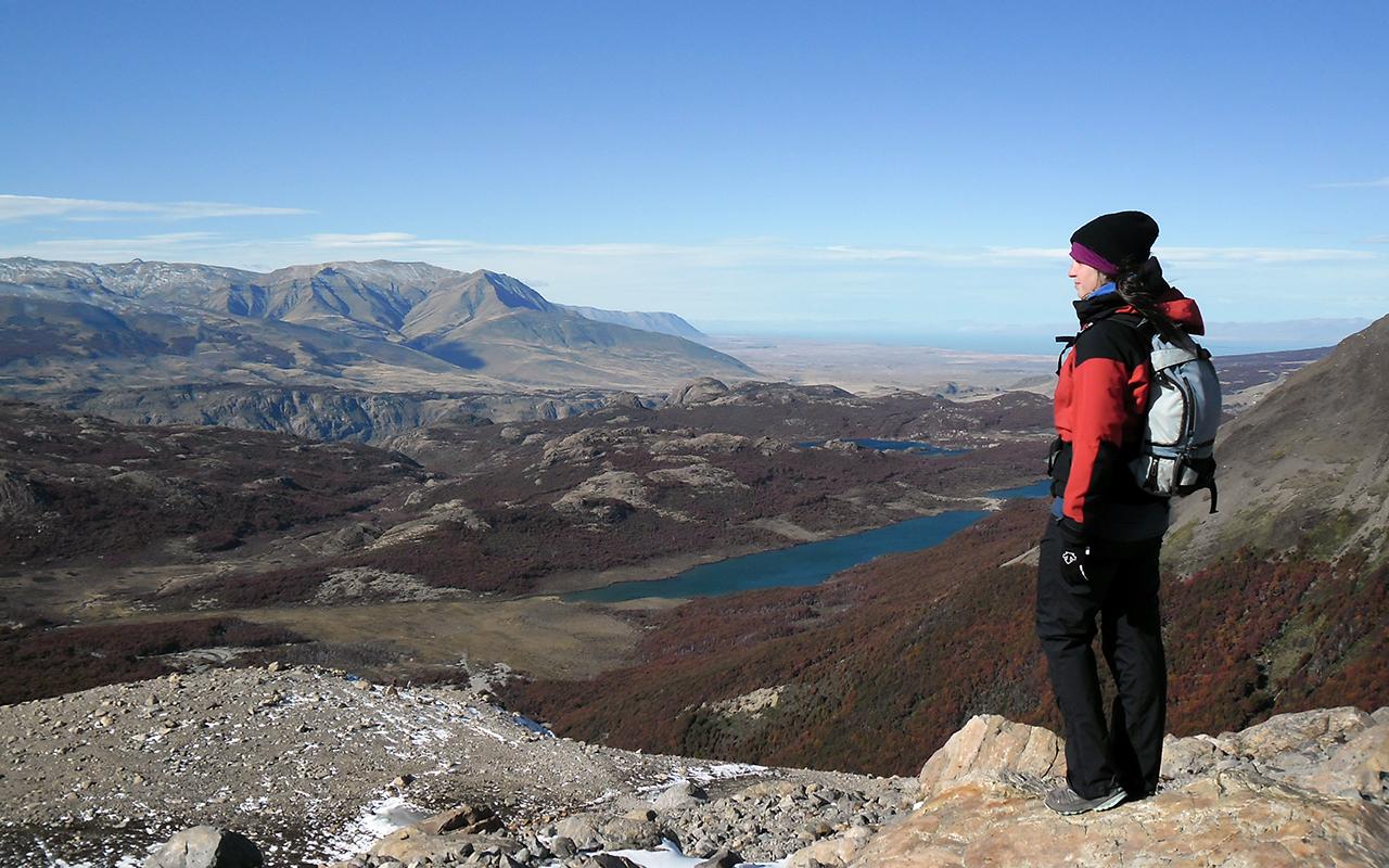 trekking patagonian andes